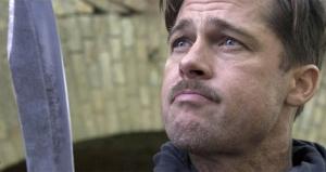 Brad Pitt wants his Nazi scalps.